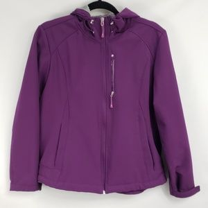 ZeroXposur Purple Gray Winter Ski Parka